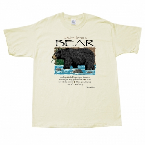 Advice from a Bear T-Shirt