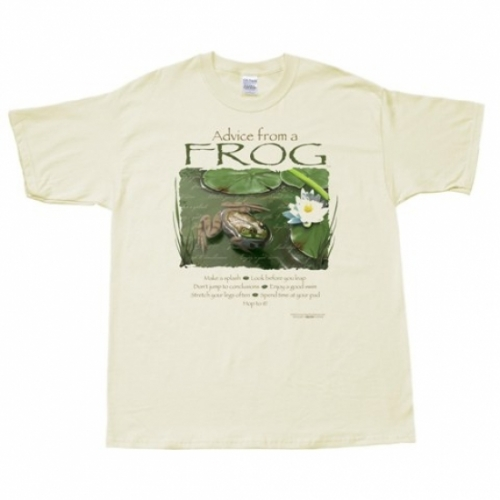 Advice from a Frog T-Shirt