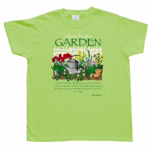 Advice from a Garden T-Shirt
