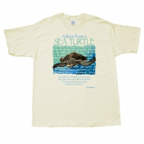 Advice from a Sea Turtle T-Shirt