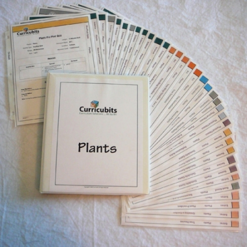 Curricubits Plants Binder