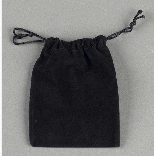 Velour Bag with Drawstring